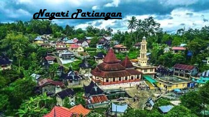 Nagari Pariangan : Desa Terindah di Dunia